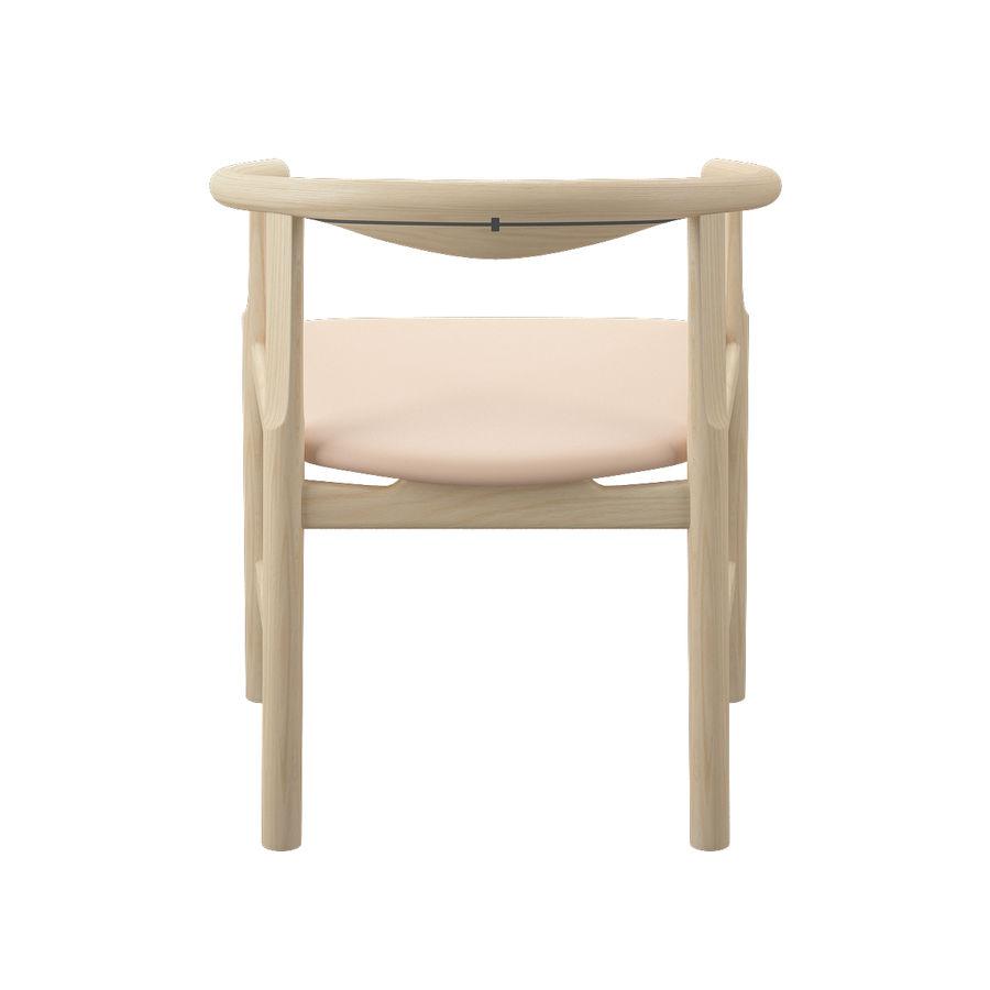 Krzesło PP203 - Hans J Wegner royalty-free 3d model - Preview no. 9