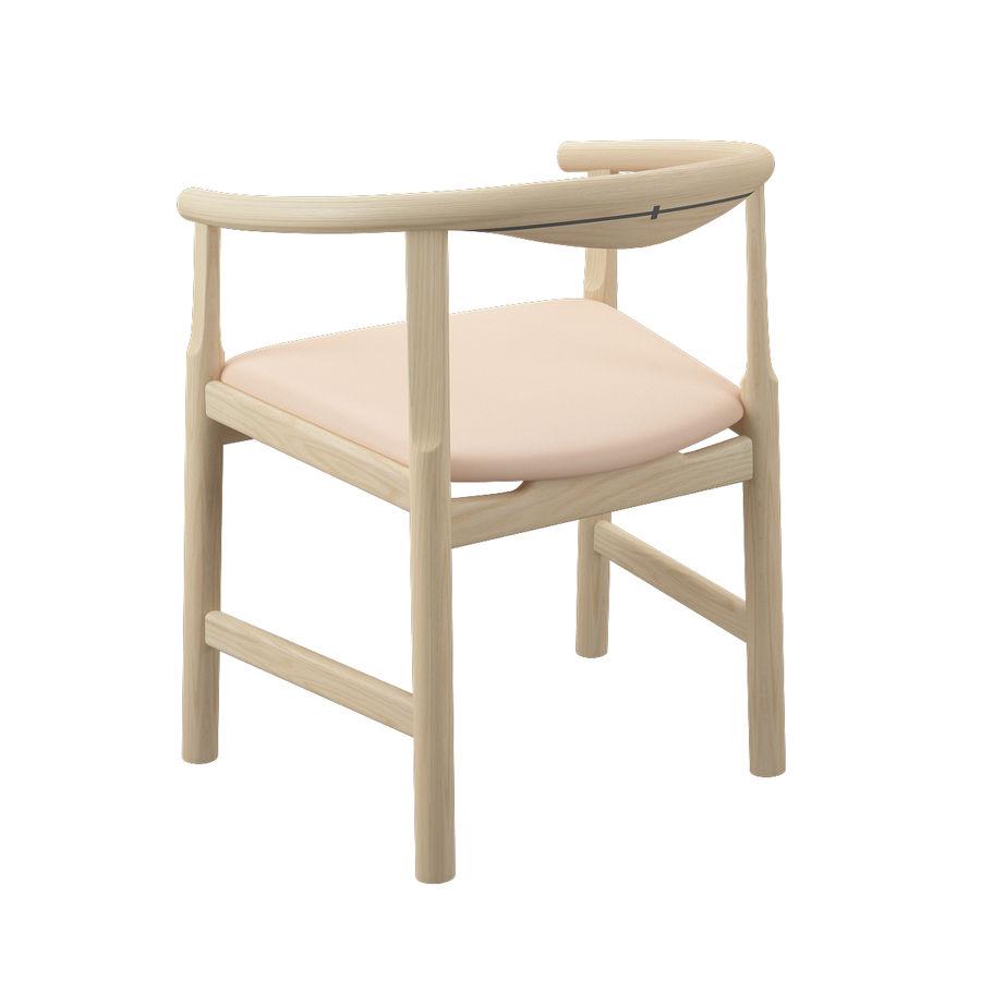 Krzesło PP203 - Hans J Wegner royalty-free 3d model - Preview no. 8