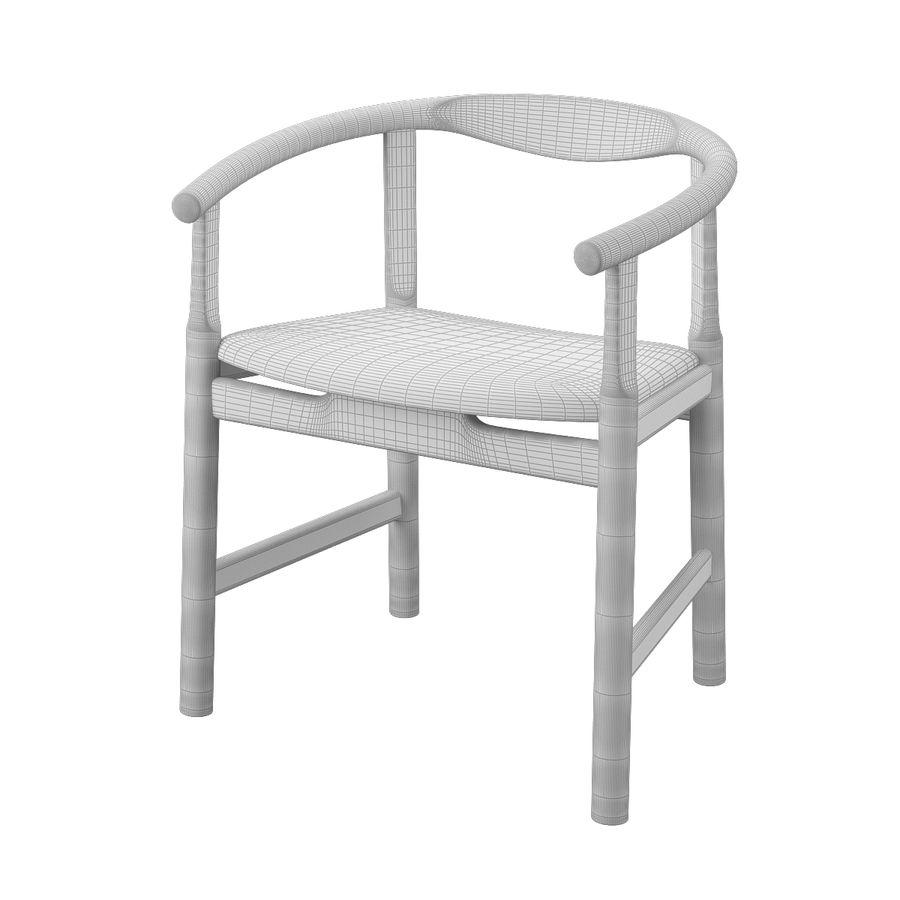 Krzesło PP203 - Hans J Wegner royalty-free 3d model - Preview no. 10