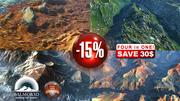 Four High Quality mountains Landscape 15pct Discount 3d model