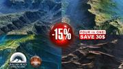 4 High Quality Landscapes Mountains 15pct Discount 3d model