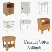 Bedside Table Collection 3d model