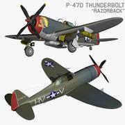 P47D Razorback 3d model