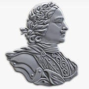 relief Peter the Great 3d model