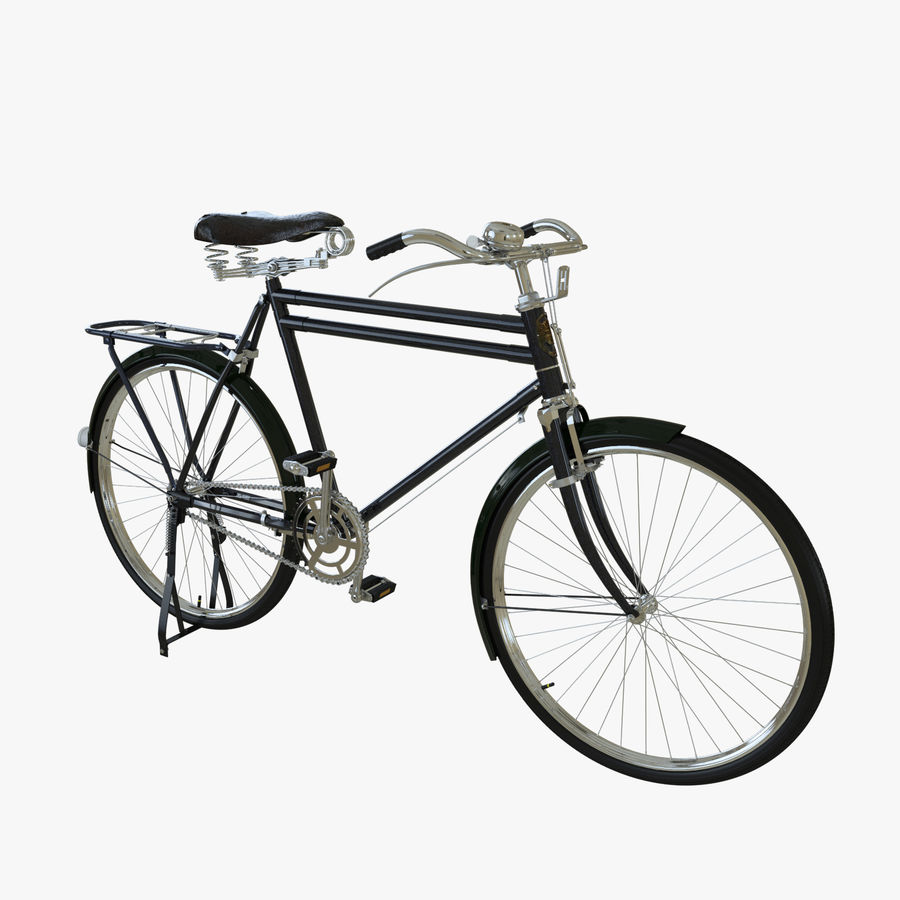 Bicycle Classic 001 (Bike) royalty-free 3d model - Preview no. 1