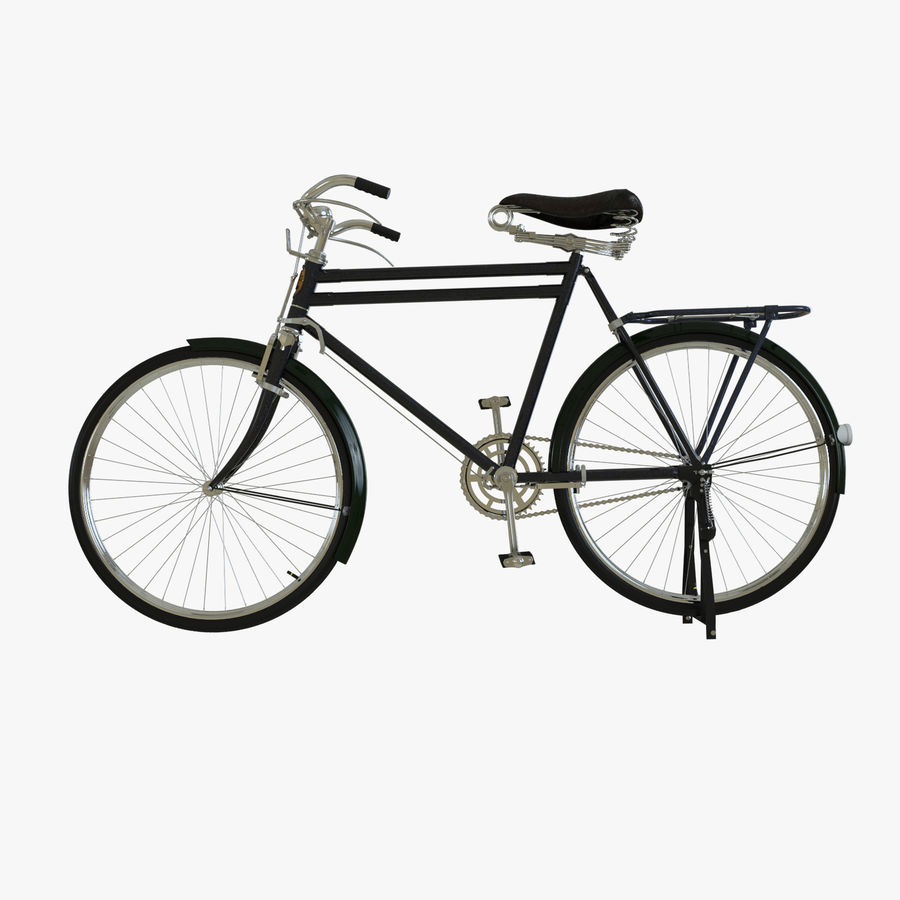 Bicycle Classic 001 (Bike) royalty-free 3d model - Preview no. 5