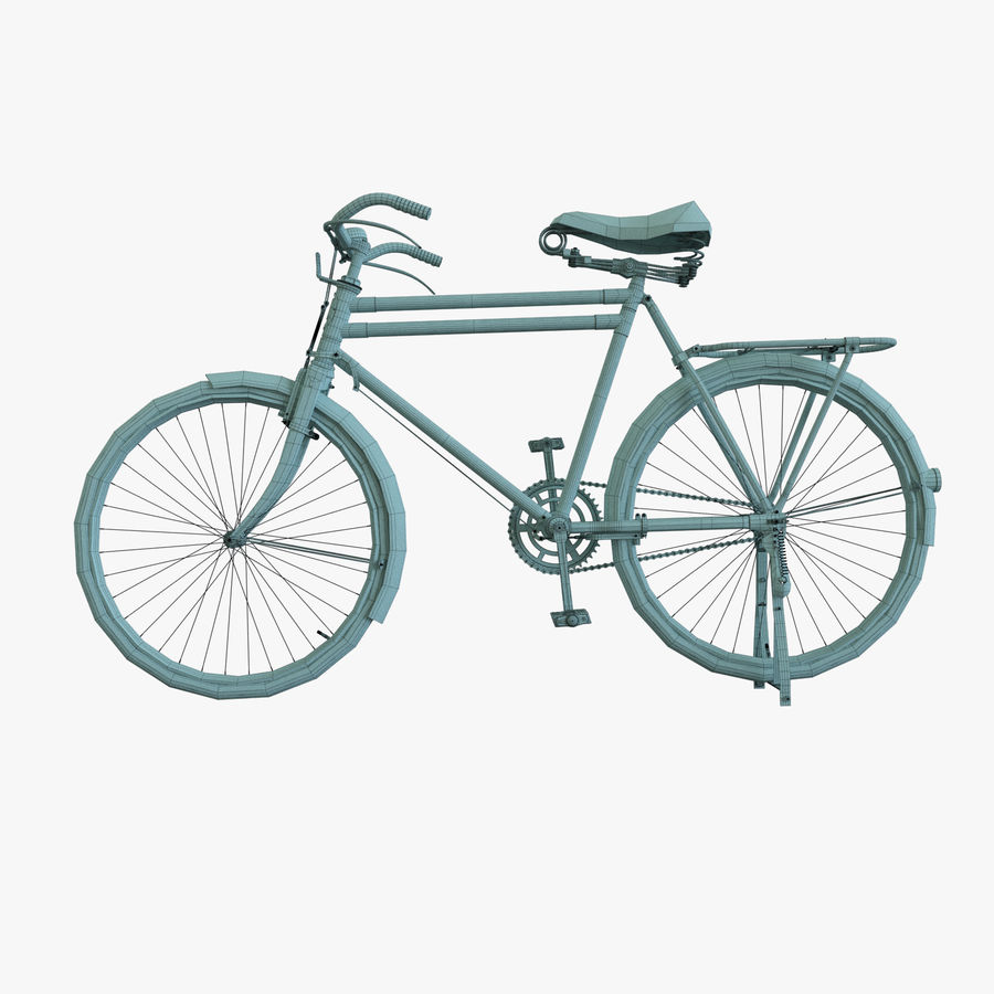 Bicycle Classic 001 (Bike) royalty-free 3d model - Preview no. 12