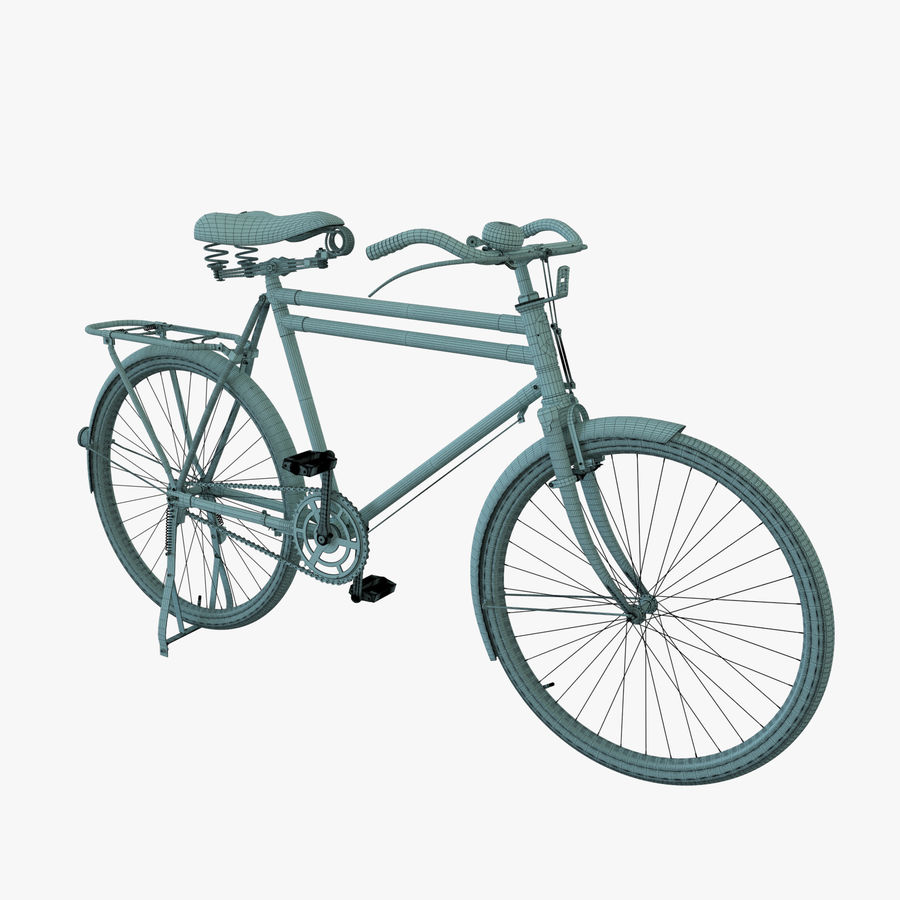 Bicycle Classic 001 (Bike) royalty-free 3d model - Preview no. 7