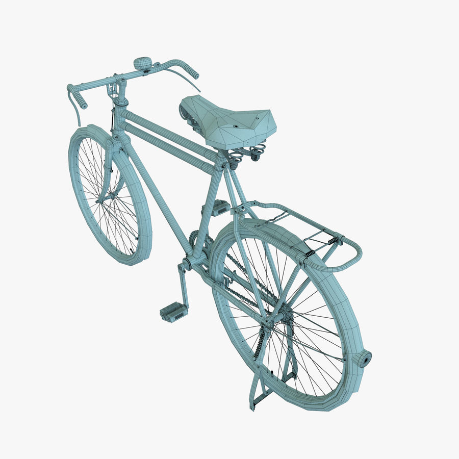 Bicycle Classic 001 (Bike) royalty-free 3d model - Preview no. 8