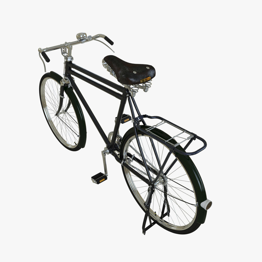 Bicycle Classic 001 (Bike) royalty-free 3d model - Preview no. 2