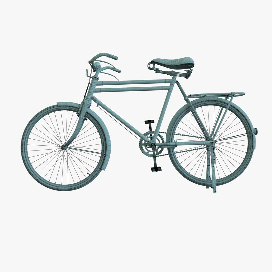 Bicycle Classic 001 (Bike) royalty-free 3d model - Preview no. 13