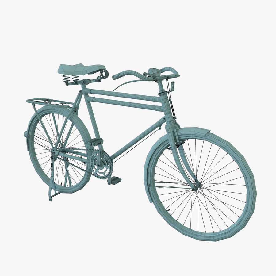 Bicycle Classic 001 (Bike) royalty-free 3d model - Preview no. 6