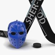 Hockey Equipment 3D Models Collection 3d model