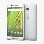 Motorola Moto X Beyaz Oyna 3d model
