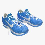 Zapatillas Nike Zoom Blue Modelo 3D modelo 3d