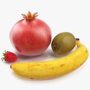 Fruits 3D Modelsコレクション 3d model