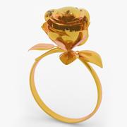 Rose Ring 3d model