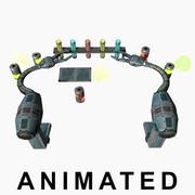 Chmestry Robotアニメーション 3d model
