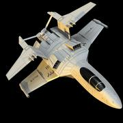 Spacefighter SF01 3d model