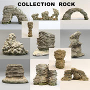 Rock  collection 3d model