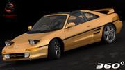 토요타 MR2 GT 1995 3d model