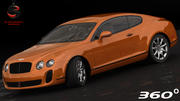 Bentley Continental Supersports 2010 3d model