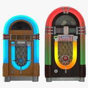 Jukeboxes 3D Models Collection 3d model