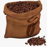 豆の袋 3d model