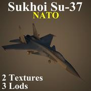 SU37 NAT 3d model