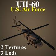 UH60 USA 3d model