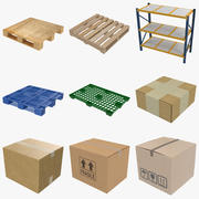 Warehouse Collection 3d model