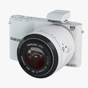 Samsung Camera NX1000 3d model