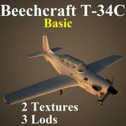 T34C Basic 3d model