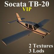 TB20 VIP 3d model