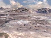 Woestijn landschap 3d model