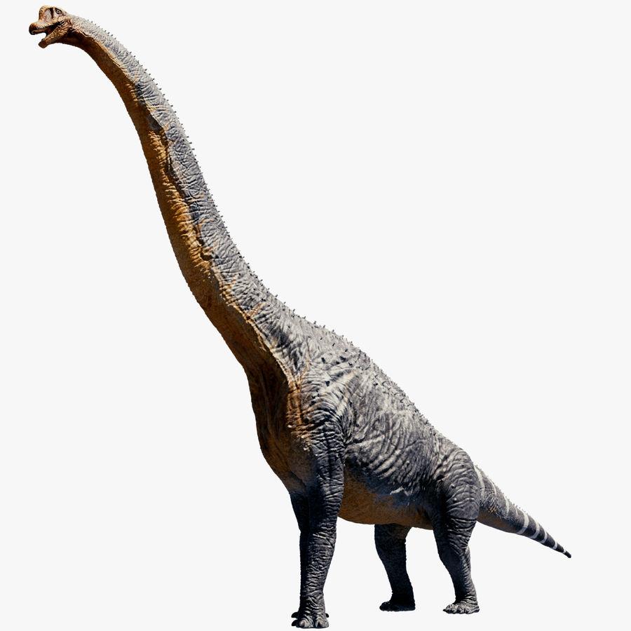 Brachiosaurus royalty-free 3d model - Preview no. 1