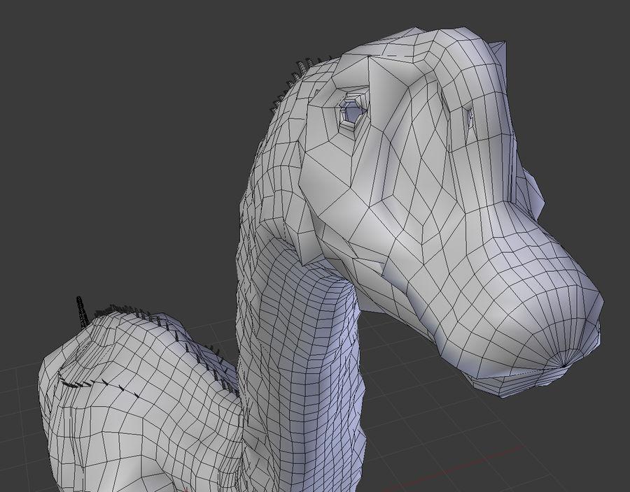 Brachiosaurus royalty-free 3d model - Preview no. 9