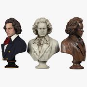 Beethoven Bust 3d model