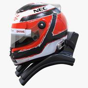 Nico Hulkenberg 2015 tarzı Yarış kask 3d model