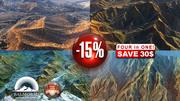 4 High Quality mountains Landscape2. 15pct Discount 3d model