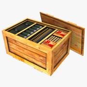 弹药箱 3d model
