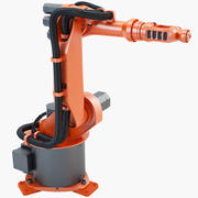 KUKA KR_6 2 Industrial Robot 3d model
