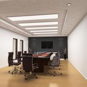 Sala de conferencia 3d model