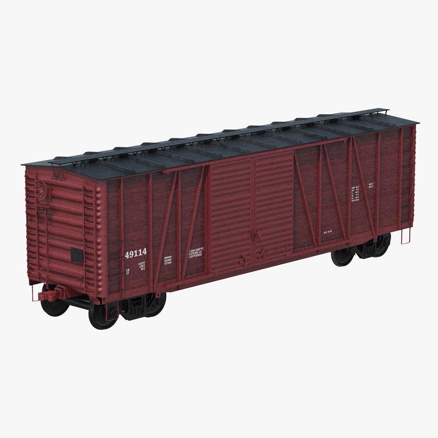 Güterwagen royalty-free 3d model - Preview no. 1
