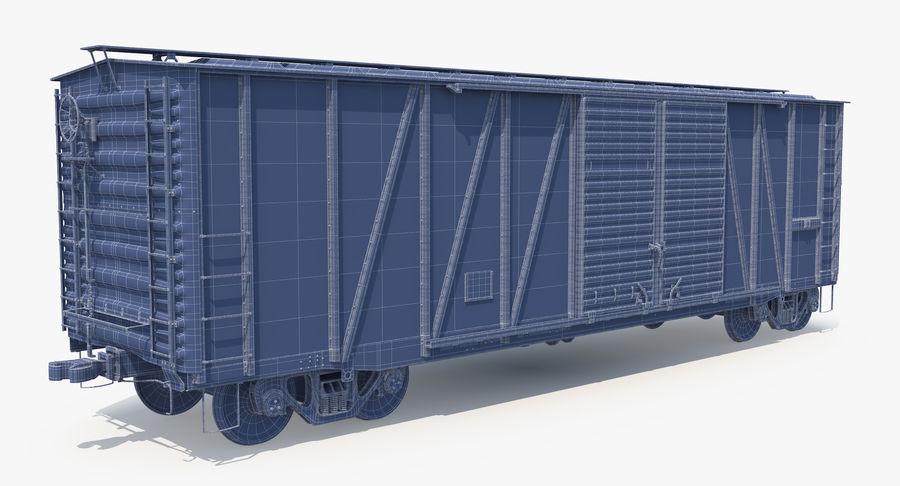 Güterwagen royalty-free 3d model - Preview no. 22