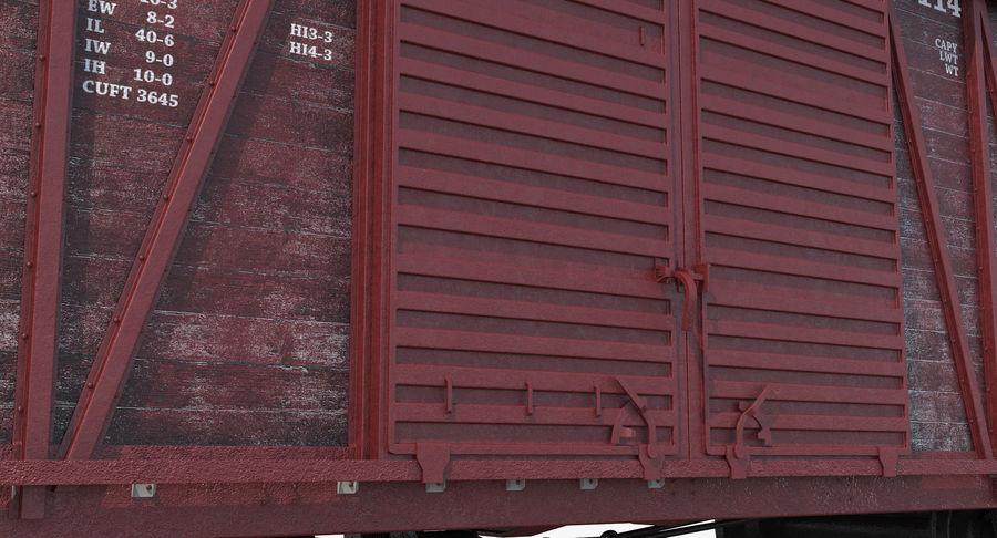 Güterwagen royalty-free 3d model - Preview no. 13