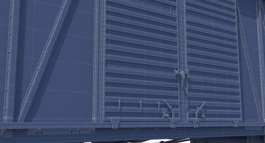 Güterwagen royalty-free 3d model - Preview no. 23
