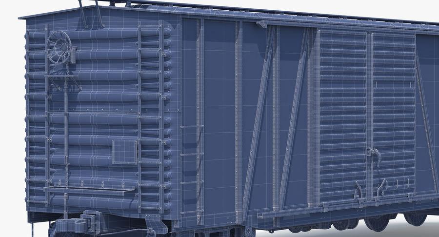 Güterwagen royalty-free 3d model - Preview no. 19