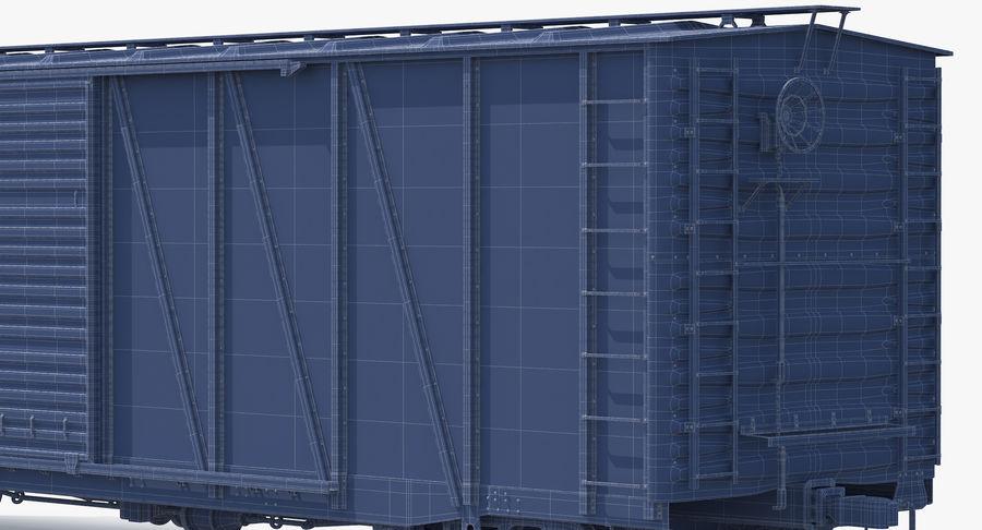 Güterwagen royalty-free 3d model - Preview no. 18