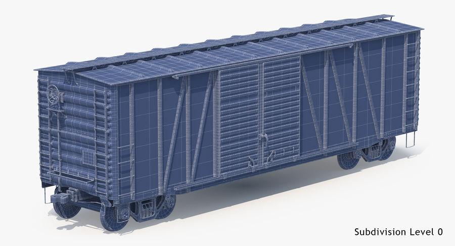 Güterwagen royalty-free 3d model - Preview no. 24